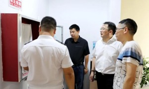 """徐树斌督导""""九小""""场所及校外培训机构消防安全工作"""